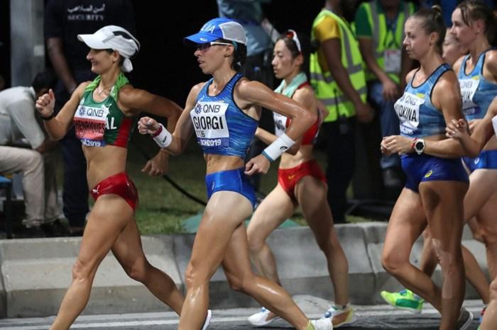 Eleonora Giorgi per l'atleta europea dell'anno