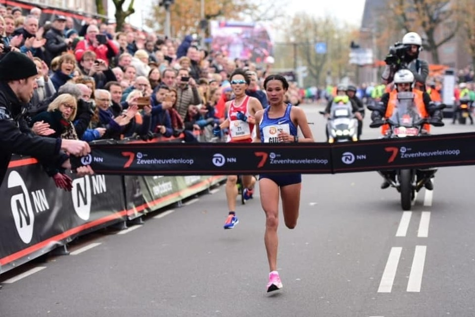 Gidey da record sui 15 km in Olanda
