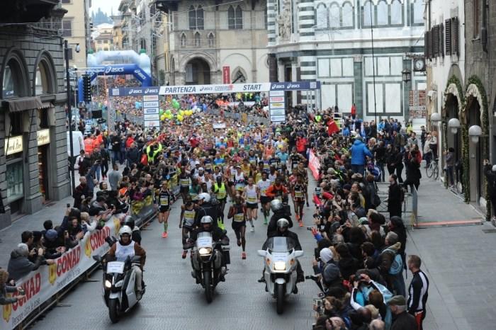Firenze Marathon: in 9000 per l'edizione 2019