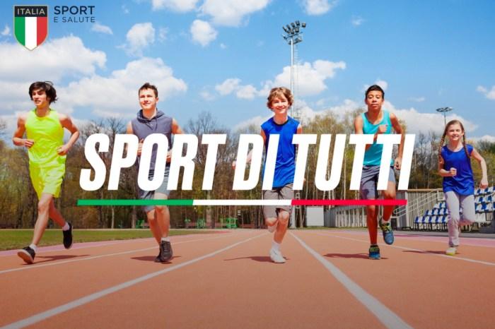 Sport di tutti: fondi per le società