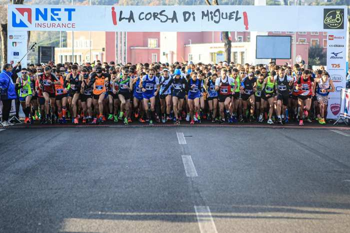 Corsa di Miguel, vincono Parisi e Brogiato