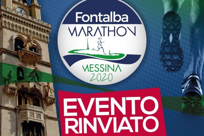 "Coronavirus: rinviata la ""Fontalba Marathon Messina"" del 15 marzo"