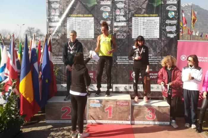 Katia Scionti campionessa italiana master di cross