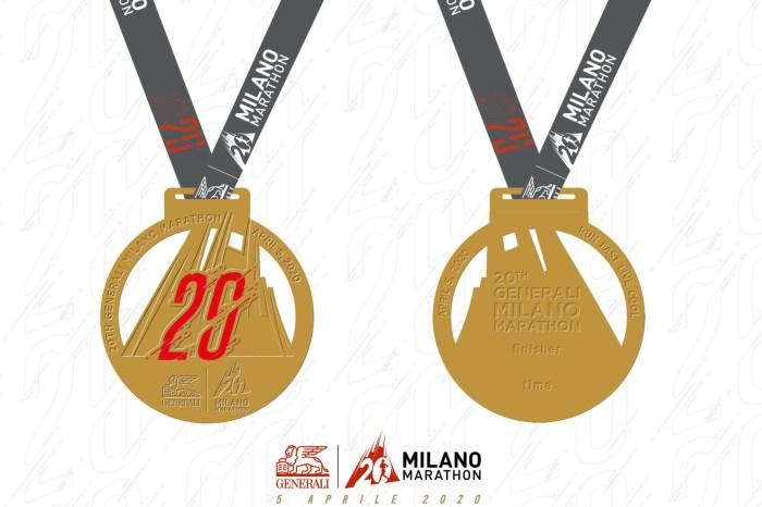 """Presentata la medaglia della """"XX Milano Marathon"""""""