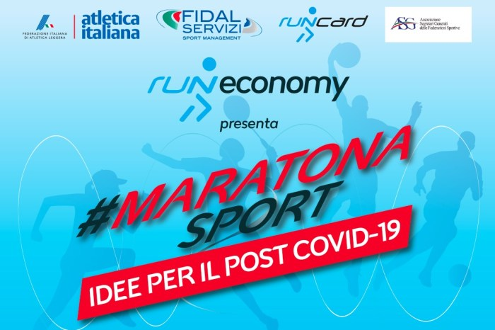 L'11 giugno #MaratonaSport in live streaming