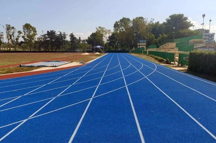 Pronta a Bari nuova pista di atletica leggera