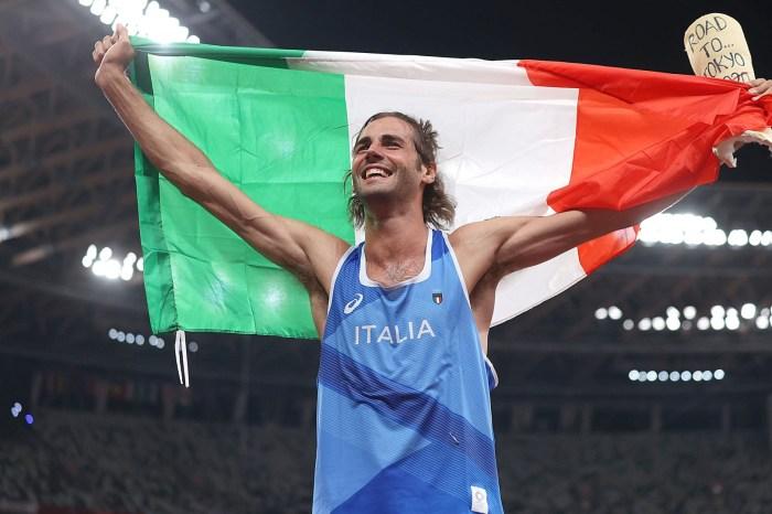 Gianmarco Tamberi in gara a Rovereto a fine mese