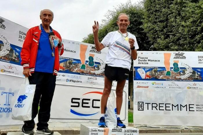 Il messinese Lillo De Lorenzo campione italiano SM75 di mezza maratona