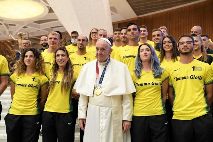 Papa Francesco... campione olimpico!