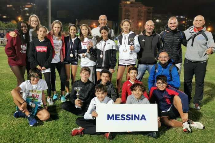 Podio Tricolore con record per Zouhir Sahran, Ragazze messinesi prime a Palermo