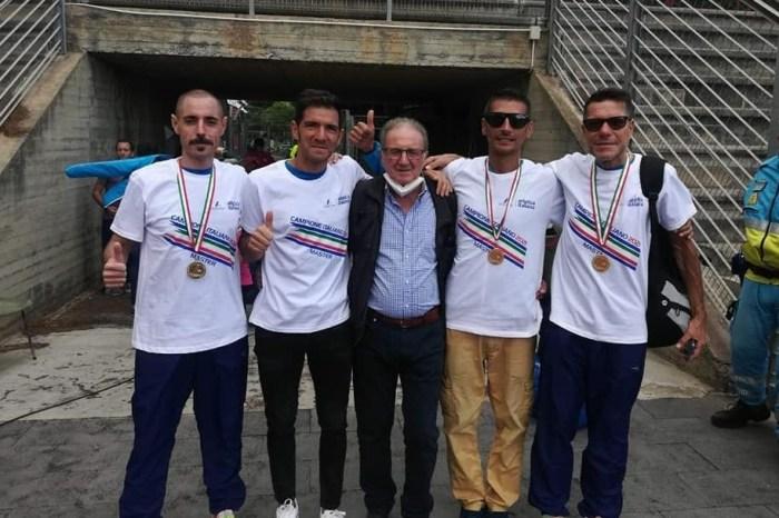 La Podistica Messina conquista tre titoli ai Campionati Italiani Master