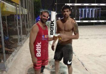 Μπιτς βόλει: Νίκος και Έλενα Παπουτσή πήραν την πρωτιά στο μικτό τουρνουά του KBV