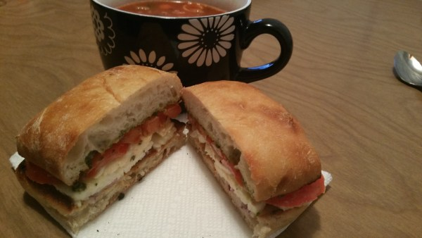 Warm Caprese Sandwich - Messin' with Perfection