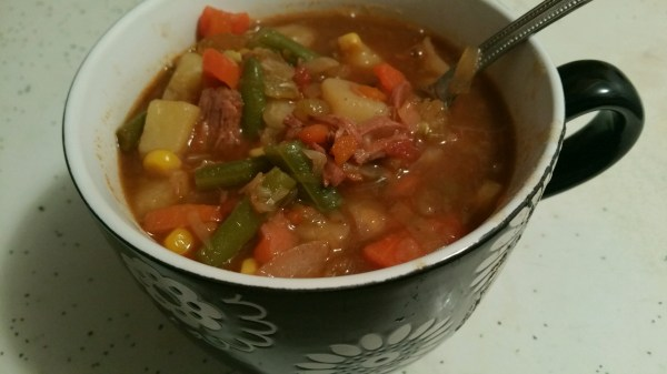 Vegetable Beef Soup - Messin' with Perfection