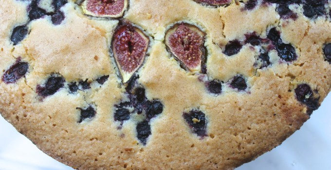 Fig & Blueberry Coffee Cake