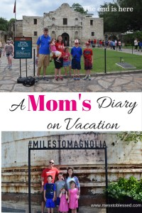 A Mom's Diary on Vacation: The End Is Here