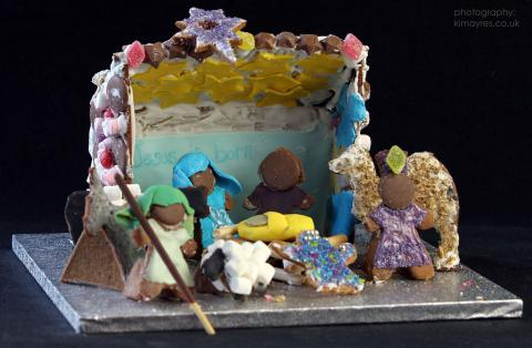The Gingerbread Nativity  Messy Church