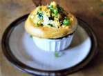 about Mushroom and Roast Pot Pie with a Cheddar Biscuits-Top