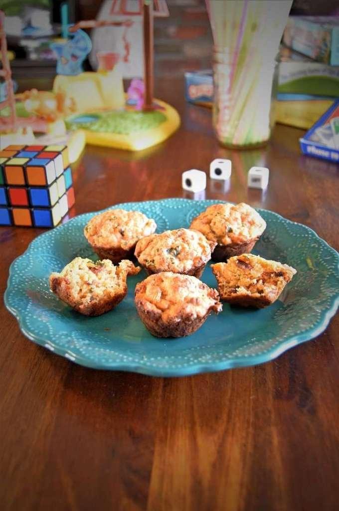 Chicken Bacon Muffin Bites
