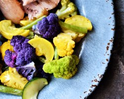 Spring Color Roasted Vegetable Medley
