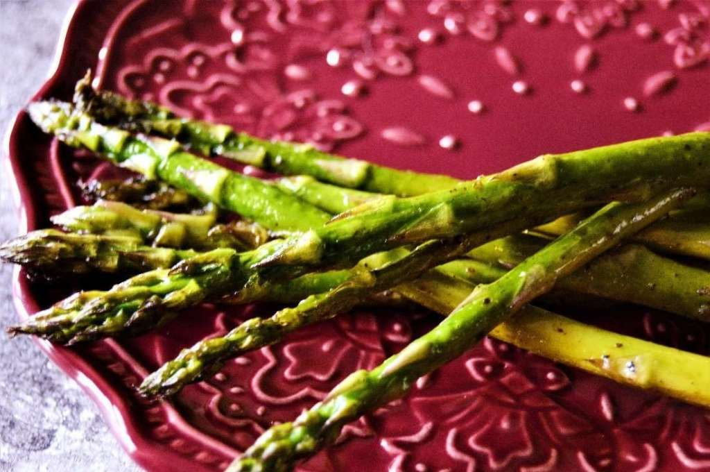 Salt and Pepper Asparagus