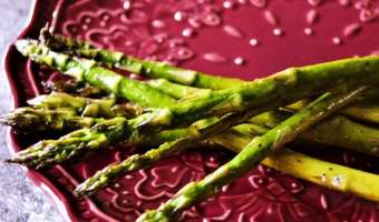 Salt and Pepper Asparagus