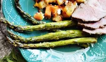 Rosemary Thyme Asparagus