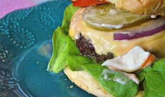 The Simple All-American Hamburger