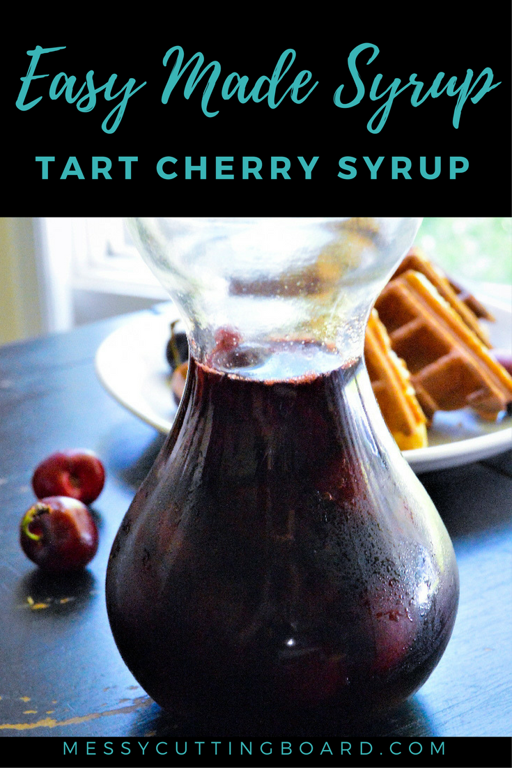Pin Tart Cherry Syrup