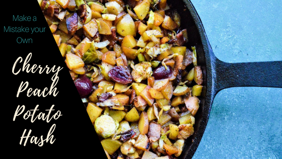 Cherry Peach Potato Hash Title