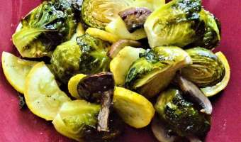 Fresh Herb Brussels Sprouts