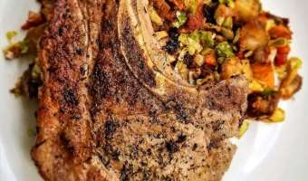 Simple Herb Pork Chop