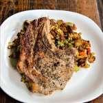 Simple Herb Pork Chop