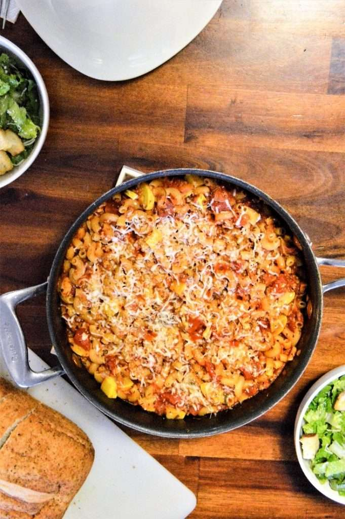 Chicken and Sausage Pasta Bake Full