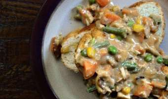 Chicken Pot Pie Gravy Feature