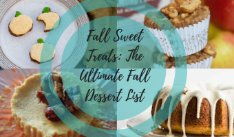Fall Sweet Treats Title