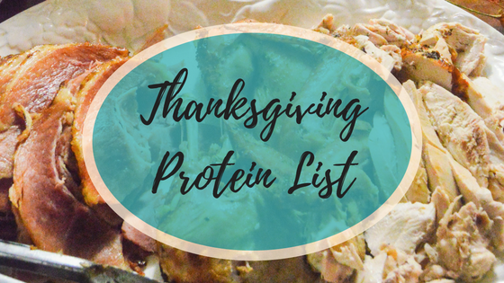 Thanksgiving Protein Title