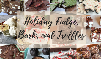 Holiday Fudge, Bark and Truffles Title