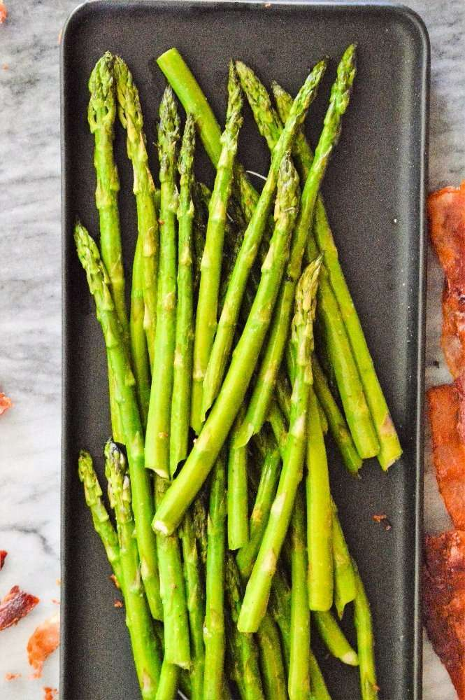 Bacon Flavored Asparagus Full