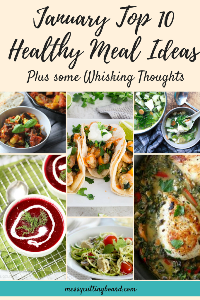 January Top 10 Health Meals Choices title