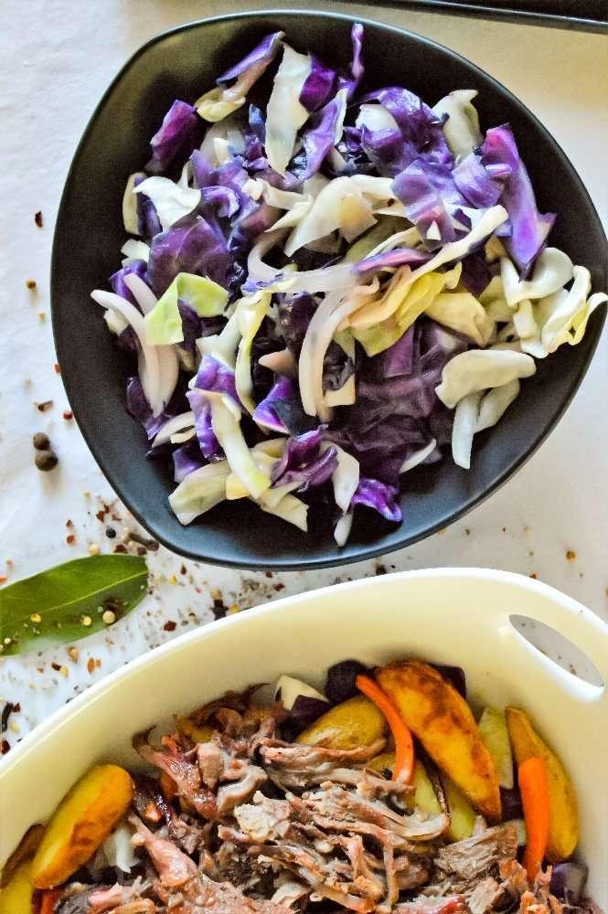 Sautéed Onion Mustard Cabbage Full