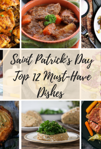 Saint Patrick's Day Dishes feature