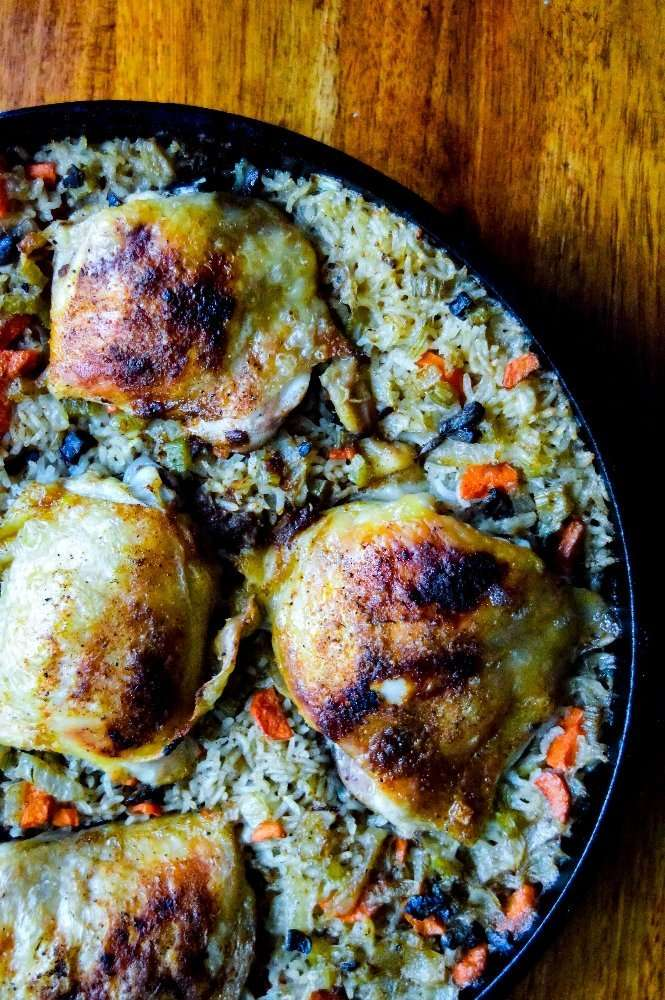 Chicken and Rice partial