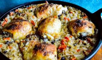 Chicken and Rice feature