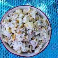 Sweet Pepper and Cornichon Potato Salad