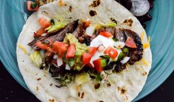 Chipotle Grilled Steak Tacos feature