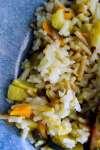 Grilled Lemon Herb Salmon Rice