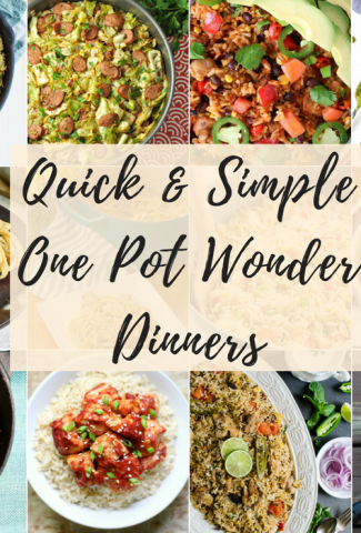 Simple Cooking One-Pot Wonders Feature