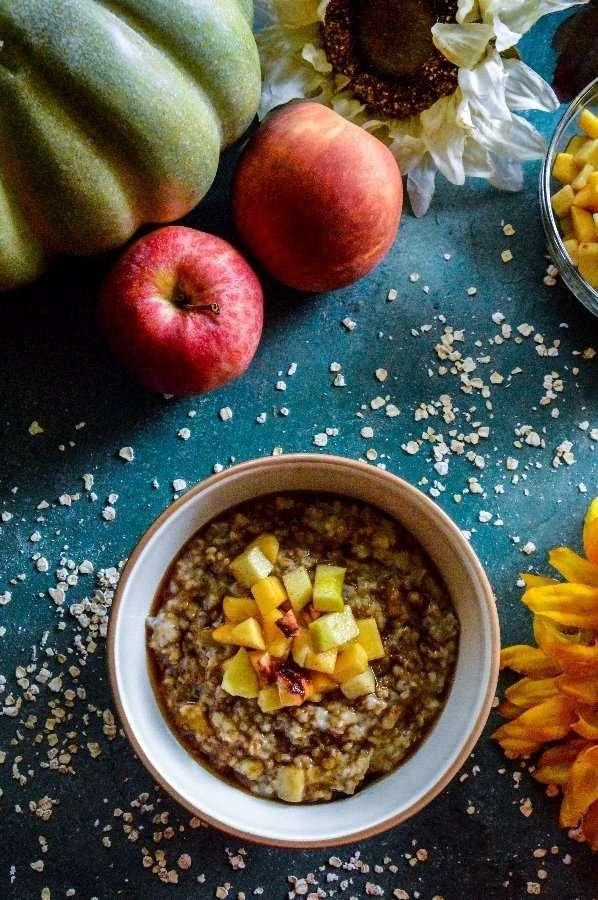 Maple Brown Sugar Fruity Oats #1