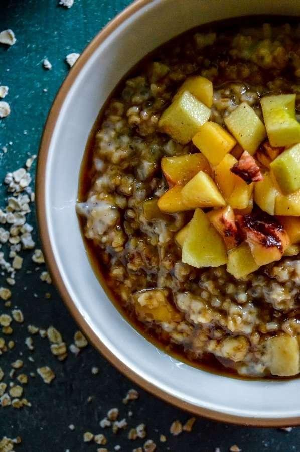 Maple Brown Sugar Fruity Oats #2